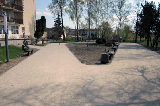 Budowa alei spacerowej w Ciechocinku