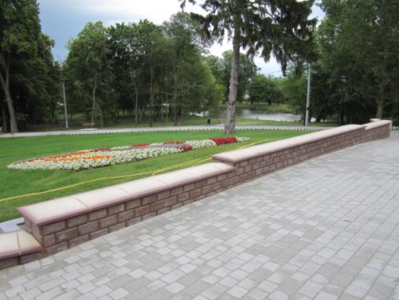 """Rewitalizacja parku dworskiego Urzędu Gminy Baruchowo 2015 (Generalny wykonawca – PPUH """"LUX-DOM"""" Sp. z o.o.)"""