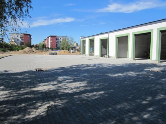 Budowa parkingu i dróg dojazdowych-Wodociągi Płock