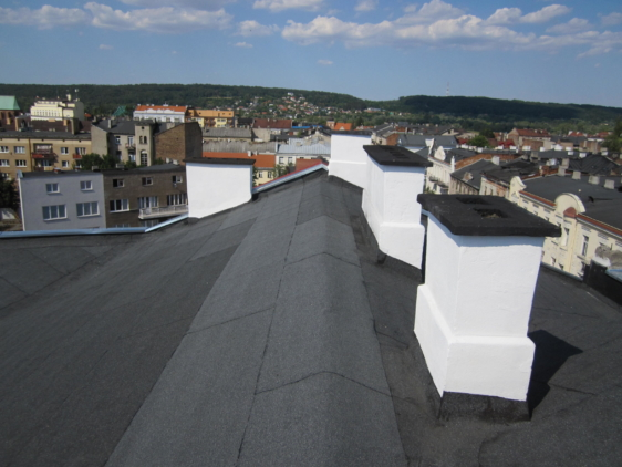 Remont dachu kamienicy przy ul. 3-go maja we Włocławku
