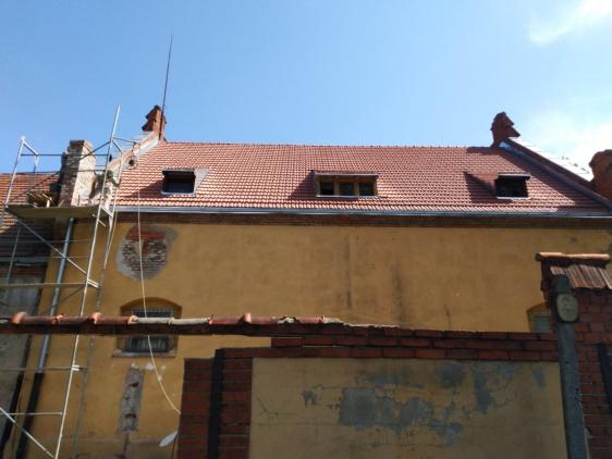 Remont więźby dachowej i pokrycia dachu w budynku Muzeum Artylerii w Toruniu-Oddział Muzeum Wojsk Lądowych w Bydgoszczy