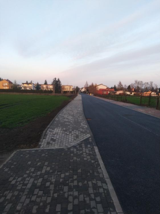 Budowa ulicy Stawowej w Ciechocinku
